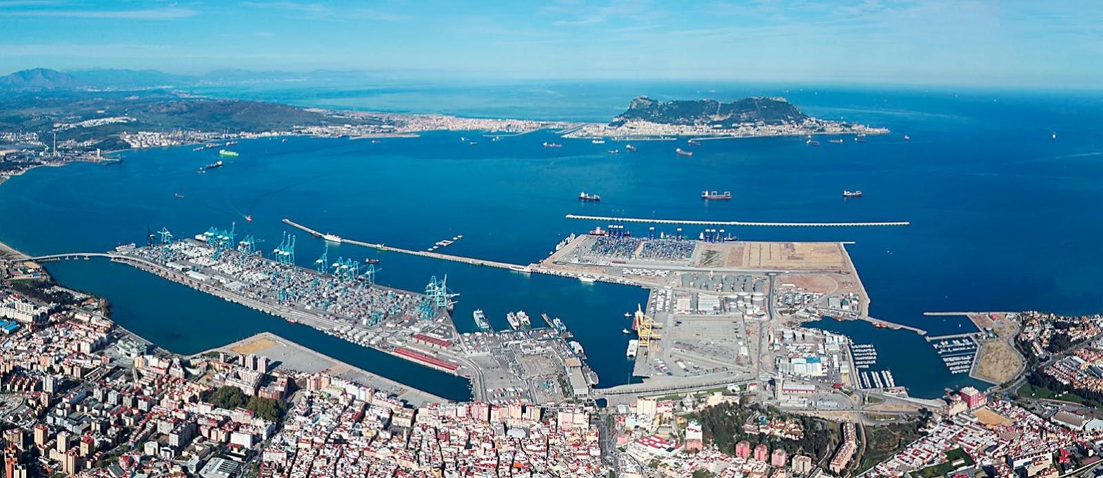 Gibraltar Strait Location
